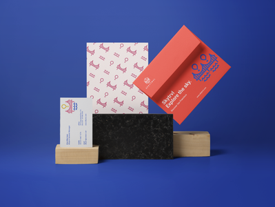 Sfkytrvl Stationery Design