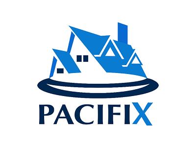 PACIFIX Company Logo logotype logodesign logo
