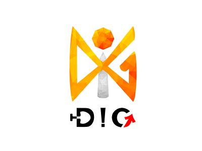 DiG LOGO DESIGN logotype teamlogo logodesign logo