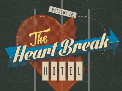 The Heartbreak Hotel. A Study of Period Roadsigns and Lost Love.