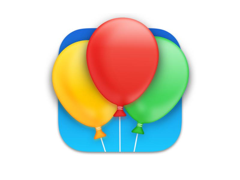 Happy Days App Icon design macos osx mac iphone app icon