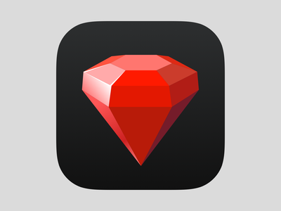 Rubyist iPhone App Icon iphone app icon