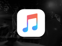 Apple Music Icon w/ Sketch