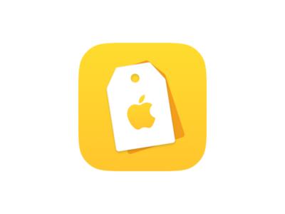Apple retail store price app icon
