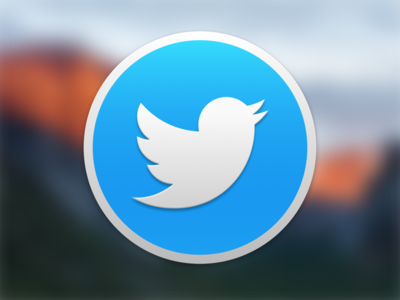 Twitter El Capitan replacement download twitter icon