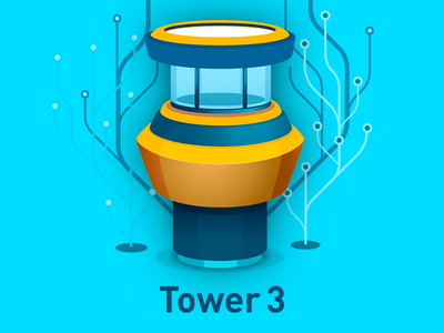 Tower 3 replacement Icon download icon