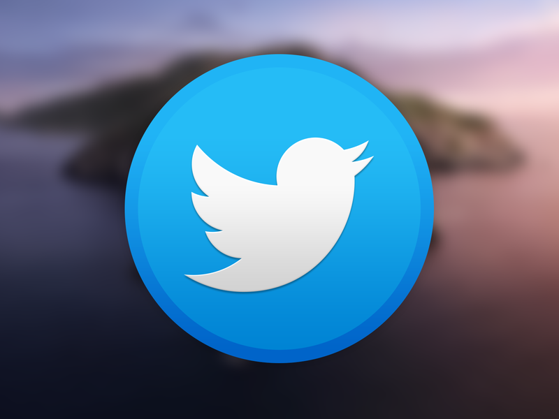 Twitter Catalina twitter osx download mac icon