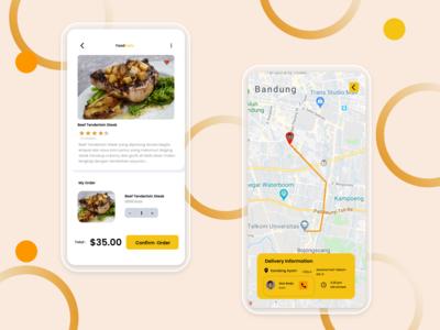 Food Order App food ordering app mobile app design uiux uidesign