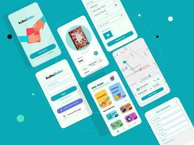 Book Donation Application books app books donation interfacedesign mobile app design uidesign
