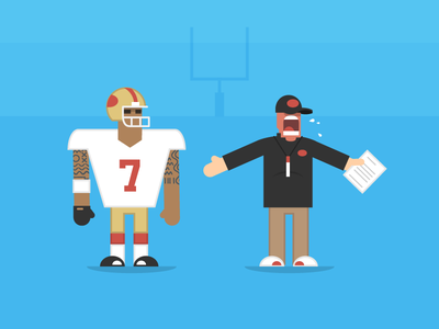 49ers football 49ers colin kaepernick jim harbaugh sports nfl playoffs