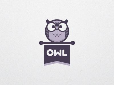 Owl Logo V1a branding logo character owl vector illustration typography