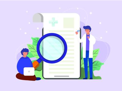 AI in healthcare graphic design
