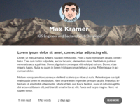 Personal Blog Redesign