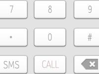 iOS Keypad