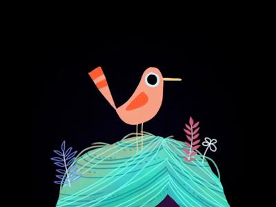 Bird self portrait