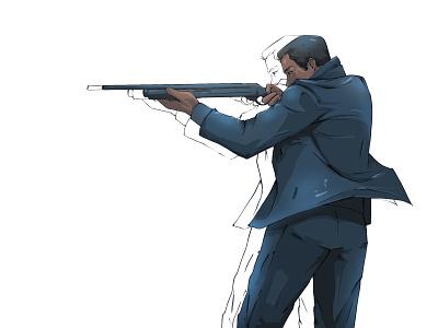 The Dark Knight batman color design drawing sketch character procreate digitalart digital illustration illustration
