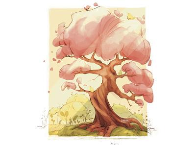 Spring color concept procreate character digitalart digital illustration sketch illustration