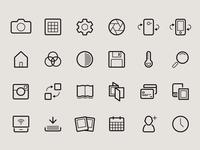 Camera App Icons