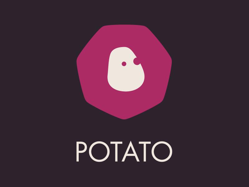 New logo for Potato potato logo vector