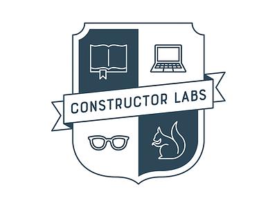 Constructor Labs logo vector shield heraldry logo