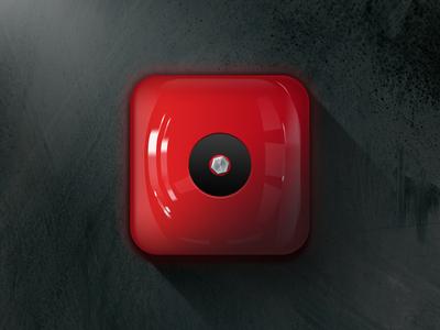 Fire alarm app icon