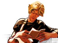 Hot dude reading