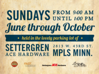 Linden Hills Farmers Market Poster Text