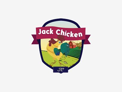 Logo Jack-Chicken logodesign. logo.