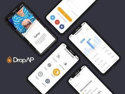 Router DropAp ios ux ui internet mobile . app router