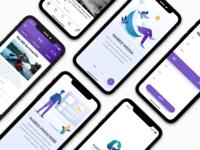 Dribbble Health App