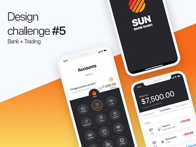 Design Challenge #5 sketchapp money bank designchallenge uiux ios trading finance . bankapp