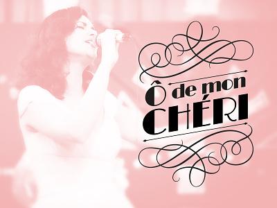 Logo for Ô de mon Chéri logo ô de mon chéri