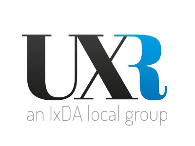 Logo for UXRomandie logo ux uxr uxromandie