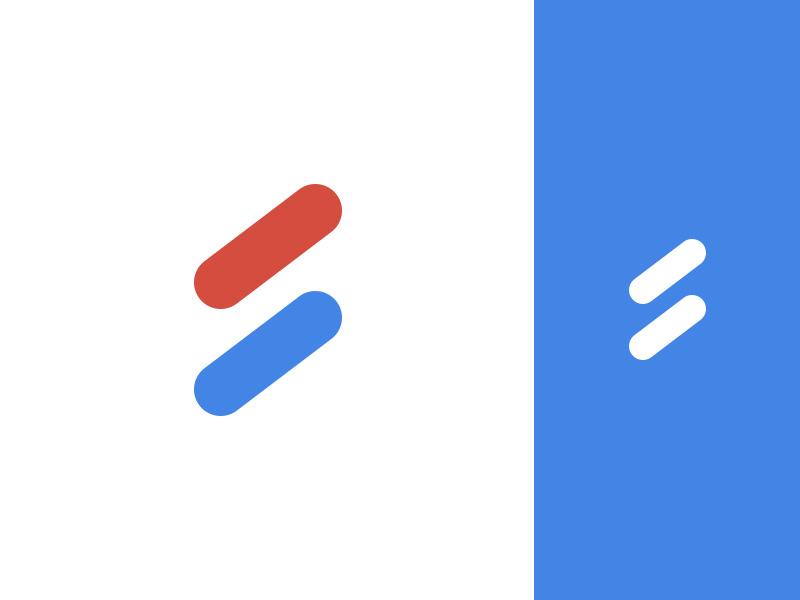 Serialize Logo minimal flat design ux branding s logo logo conceptual design