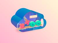 DDoS Illustration