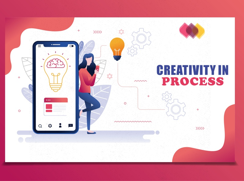 Creativity in Process Ideas designing marketing collateral marketing agency marketing campaign marketing site onlinemarketing digital painting digitalart app digital art digital illustration marketing digitalmarketing digital typography illustration vector