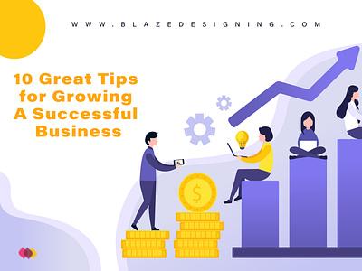10 Great Tips for growing your business media digital painting digitalart digital art branding illustration digitalmarketing typography digital illustration design digital marketing animation
