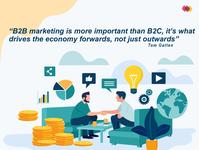 B2B Marketing Strategy digital illustration digital illustration design branding typography vector ui marketing animation