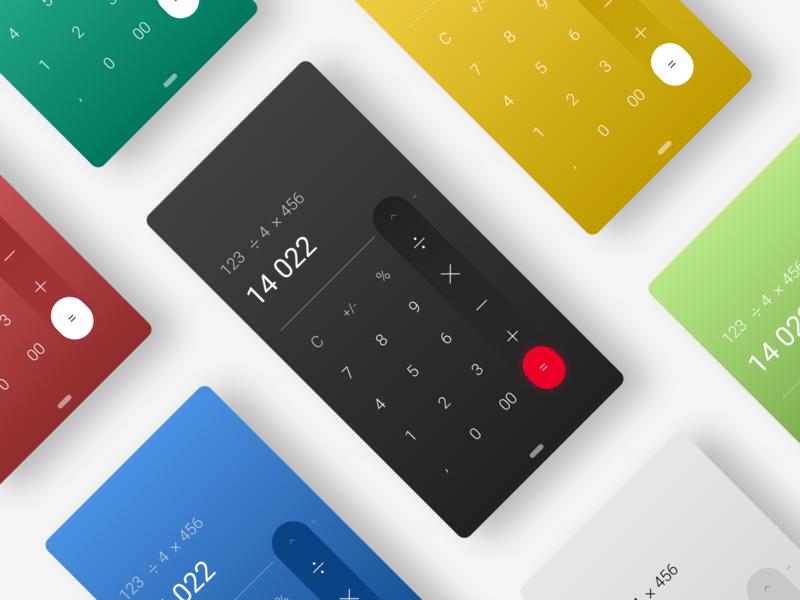 Calculator   DailyUI #004 calculator app daily 004 minimal dailyuichallenge dailyui ui calculator ui calculator 004