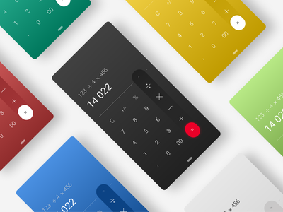 Calculator | DailyUI #004 calculator app daily 004 minimal dailyuichallenge dailyui ui calculator ui calculator 004