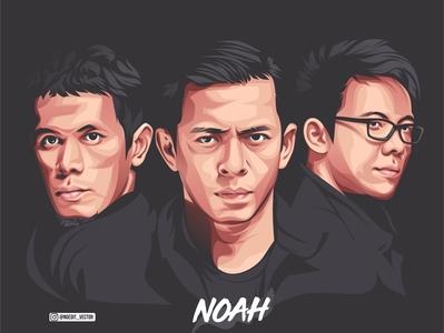 Noah Band Vector Art