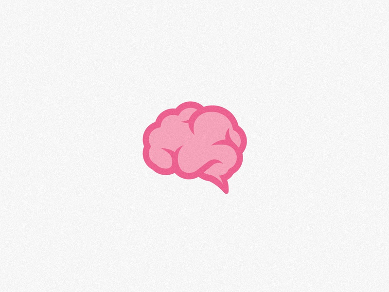 brain icon by dothaus on dribbble
