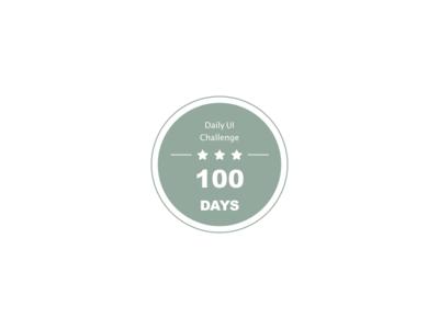 #DailyUI #UI #084 #badge #challenge