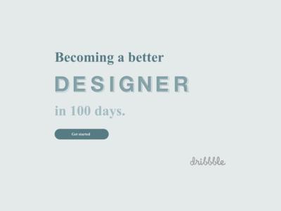 #DailyUI #UI #100 #redesigndailyUIlandingpage #landingpage