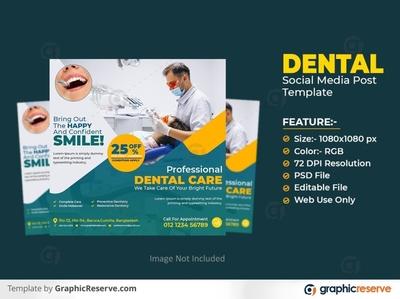 Dental Clinic Social Media Marketing Kit for Facebook & Instagra medical social media post medical health social media post health dentistry dentist social media post dentist dental social media post social media post dental
