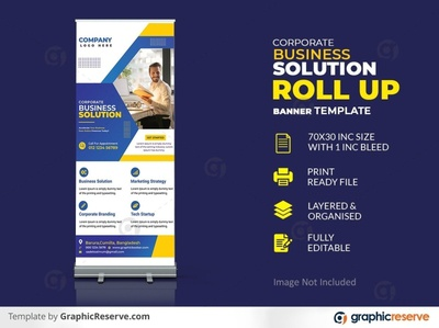 Creative Corporate Business roll up banner premium PSD x banner template signage roll up banner roll up corporate rollup banner corporate roll up corporate business rollup banner corporate business rollup corporate banner company roll up business rollup banner banner design banner