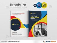 Corporate Business Profile 08 Pages Brochure Template print ready brochure template corporate multipurpose brochure corporate business profile business brochure brochure 08 pages design 08 pages multipages template 08 pages brochure templates brochure template