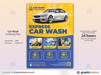 Car Wash Flyer Template service wash club cleaning instagram banner car wash car post banner car polish car instagram post car cleaning car care business auto wash auto detailing auto clean