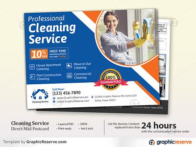 Cleaning Service EDDM Postcard eddm postcard eddm cleaning service eddm