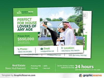 Real estate home for sale EDDM Postcard template real estate eddm postcard